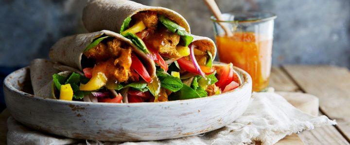 Indisk street food: Kati-rolls med kylling